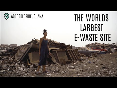 THE WORLDS BIGGEST E-WASTE SITE - Agbogbloshie, Ghana
