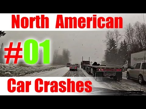 2015 - #1  |  North American Car Crashes Compilation