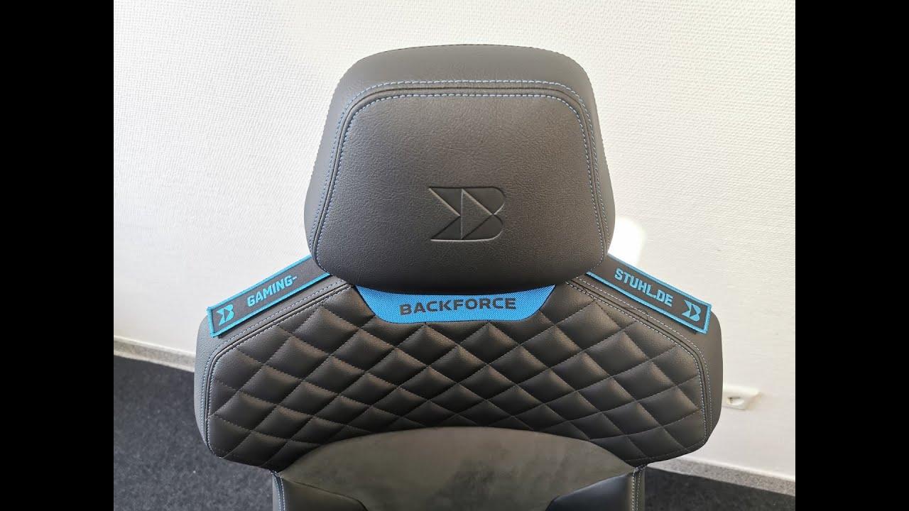 Backforce One Test Made In Germany Gaming Stuhl Meine Erfahrungen Grossenberatung Youtube