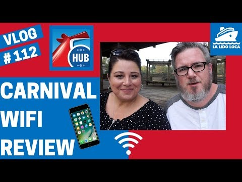 Carnival Cruise WIFI Options - WIFI on the Cruise Ship - Carnival Cruise WIFI Review - vlog 112