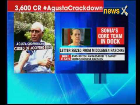 Agusta Crack down: Channelising bribe to others