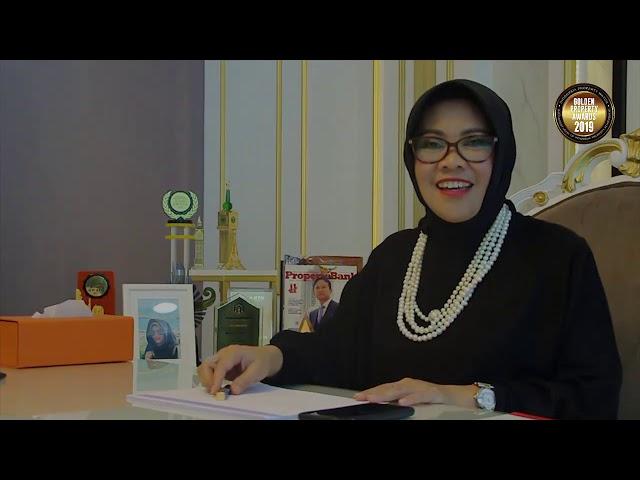 Testimoni para tokoh tentang Golden Property Awards Tuti Mugiastuti