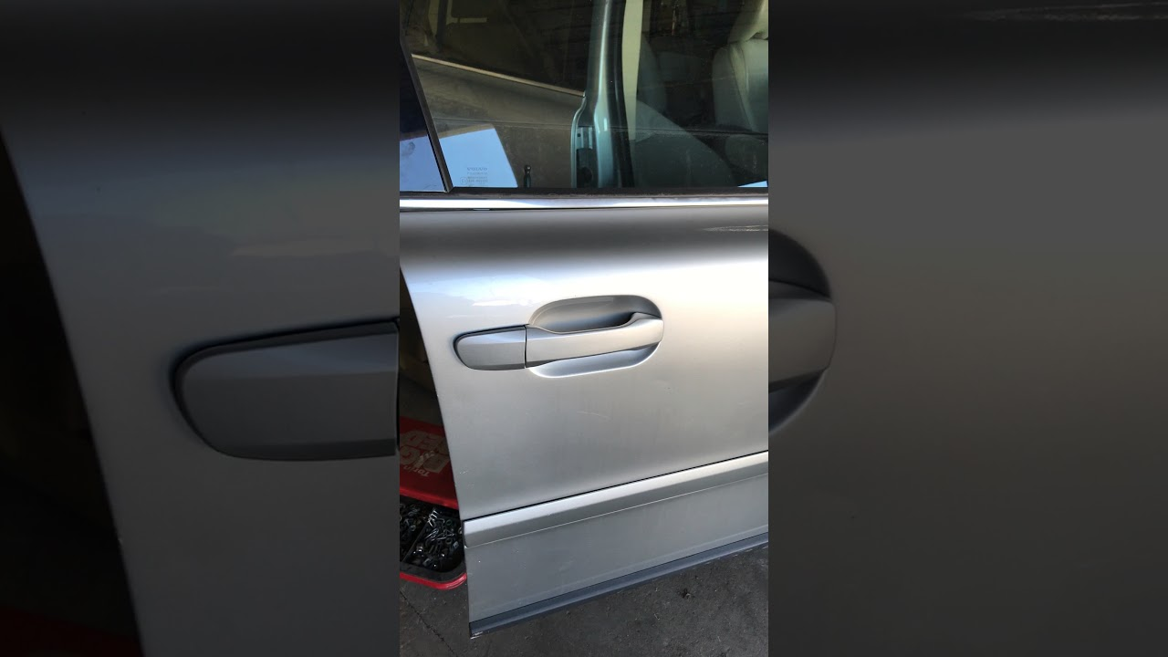 Volvo xc90 exterior door handle removal youtube - How to remove exterior door knob ...