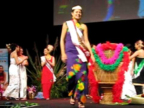 Maree Angelica Wright gets Crowned Miss Samoa NZ 2010 and makes History!!!
