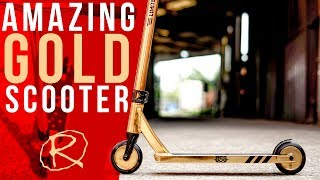 Amazing Gold Ride 858 Pro Scooter Review and Specs | Rampworx Shop