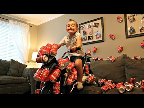 FUNNY KIDS PRANK with COCA COLA! Kids Transform Magic Car, Family Fun Kids toys