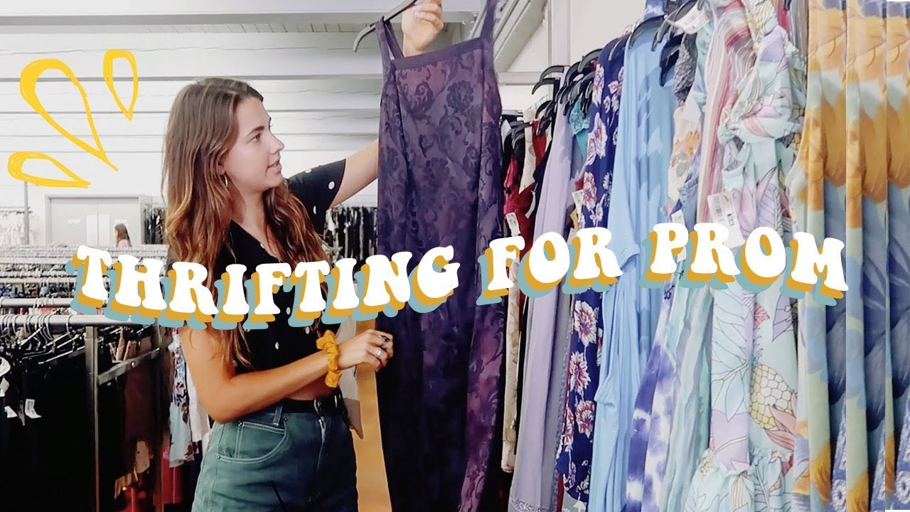 67f1337025bb4 Come Thrifting With Me For Prom Dresses - YouTube