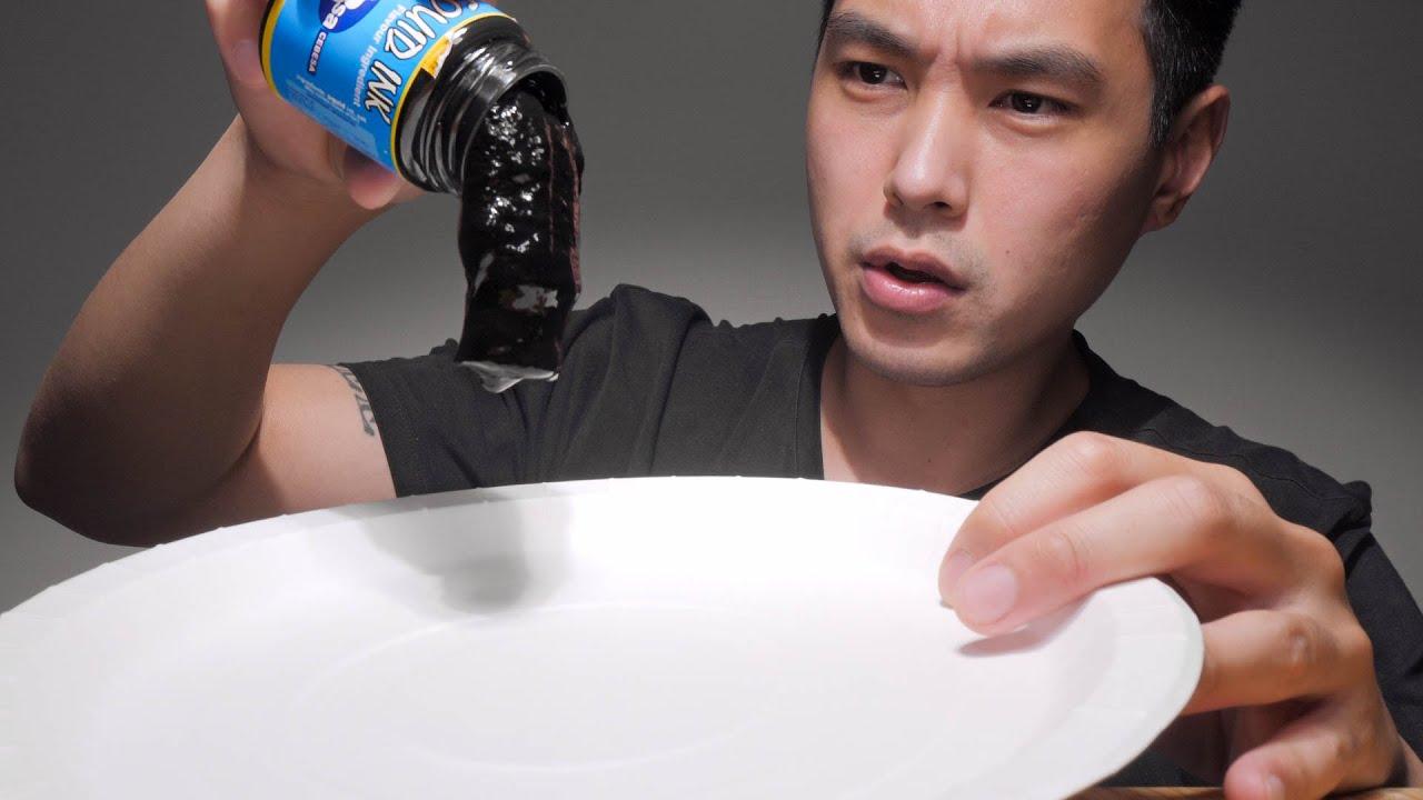 Tasting Squid Ink