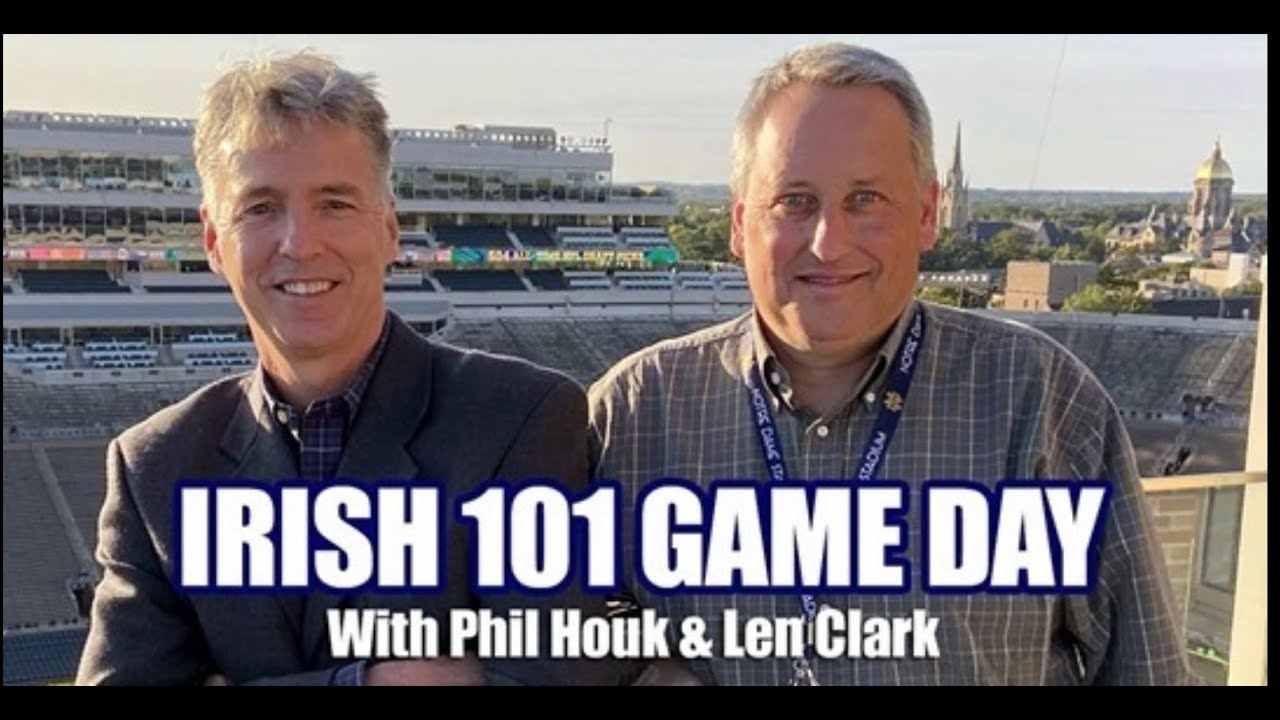 Irish 101 Game Day - Boston College Edition