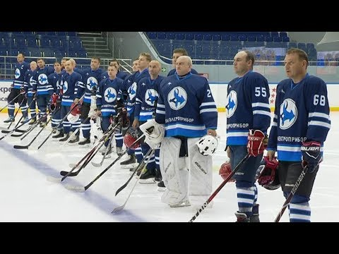 Юбилей тамбовского завода «Электроприбор» отметили хоккейным турниром