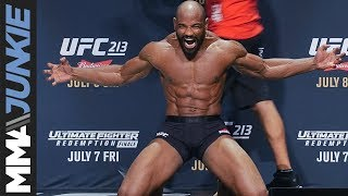 Download Yoel Romero's open workout will make you realize how unathletic you are Mp3 and Videos