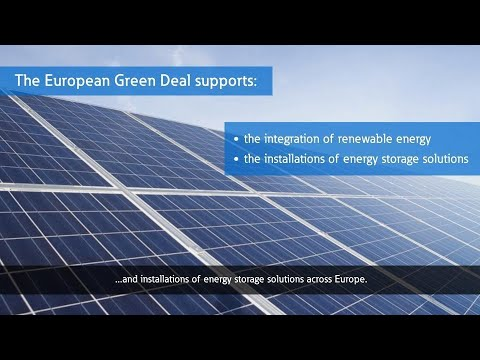 Contributing to the EU Green Deal with Eaton xStorage Compact