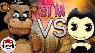 Video [SFM] FNAF vs Bendy and the Ink Machine Rap Battle | Freddy vs Bendy 2 | #RockitGaming download MP3, 3GP, MP4, WEBM, AVI, FLV Oktober 2018