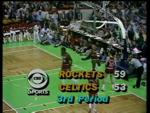 Larry Bird - 18/21/9 (1981 Finals - Game 1)