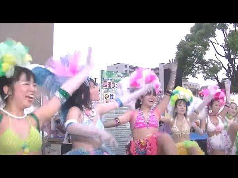 神戸サンバチーム 2019 神戸まつり. 長田フェスティバル