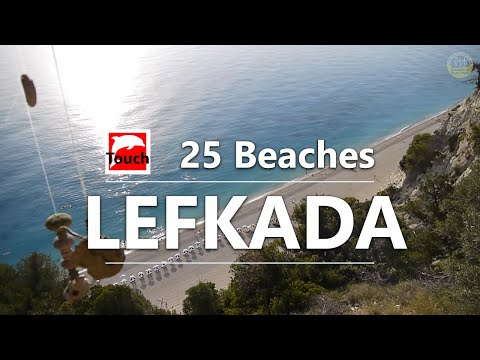 25 Beaches of Lefkada Island, Greece - 21 min.
