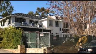 JOHNNY HALLYDAY'S HOUSE CONSTRUCTION 15 February 2010
