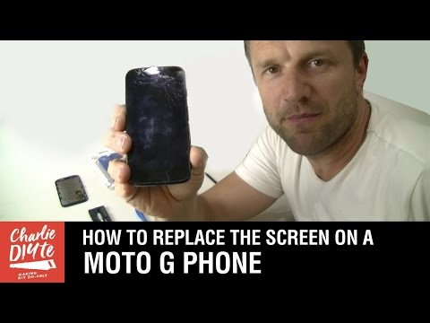 How to Replace Cracked Screen on Motorola Moto G 4G (1st Gen)