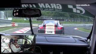 Porsche 997 GT3 Cup Sean Edwards Onboard VLN 5.Lauf 2011 Nürburgring Nordschleife