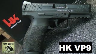 HK VP9 Striker Fired Pistol Review(Fun Gun Reviews Presents: The HK VP9 Striker Fired Pistol Review. HK was the first to develop the Striker-fire with the VP70 and then the P7. This is the first HK ..., 2014-06-13T03:54:04.000Z)