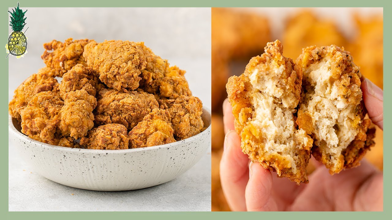 How to Make Vegan KFC Fried Chicken (Copycat Recipe)