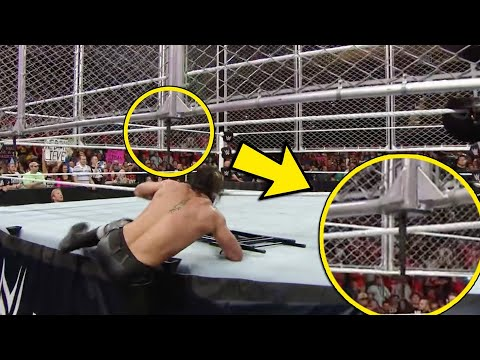 10 Wrestling Bumps That Were Seconds Away From Disaster