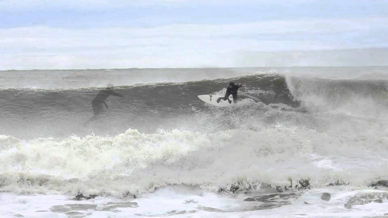 Winter Storm Kicks Up Waves In Virginia Beach
