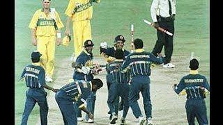 1996 cricket world cup final - last run - srilanka vs australia