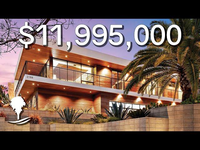 Inside a $11,995,000 Stunning Modern Estate Overlooking the Ocean in Del Mar, California