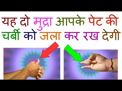 Hand Mudra For Flat Tummy/Mudra For Flat Belly/Yoga Mudra For Flat Stomach/Mudra For Flat Tummy