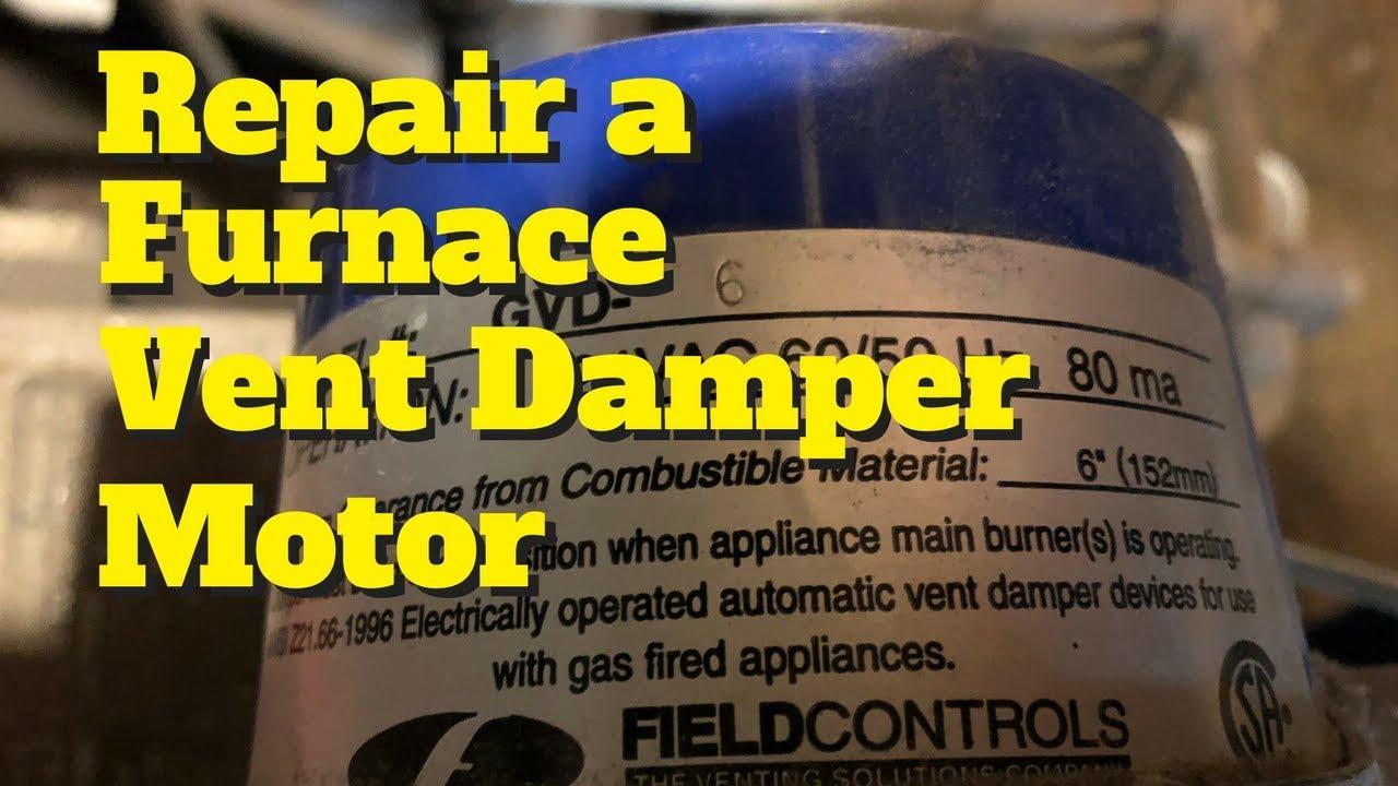 Automatic Vent Damper Wiring Diagram