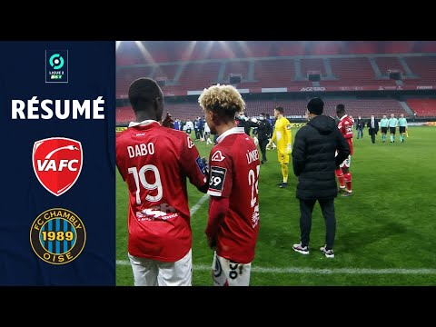 Valenciennes Chambly Goals And Highlights