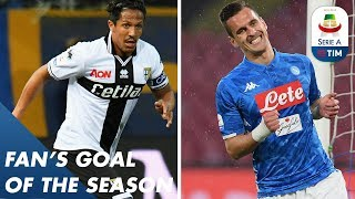 Fan's Goal of the Season | Group C | Free Kick of the Season | Serie A