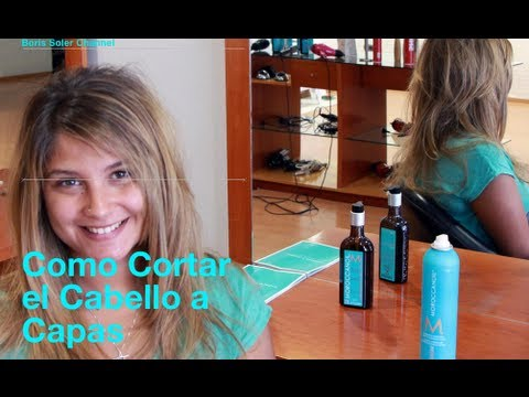 Como cortar una cabello a Capas - How to Cut Your Own Hair in Layers Videos De Viajes