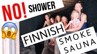 NO shower! OR toilet! FINNISH SMOKE SAUNA