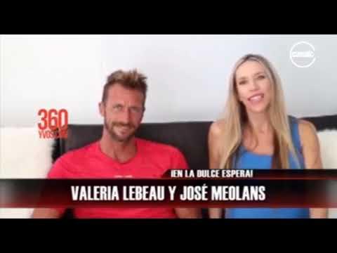 Valeria Lebeau y José Meolans en #360yvosTV