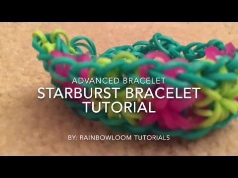 Rainbow Loom Starburst Bracelet Tutorial