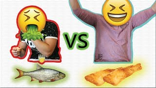 RAW FOOD VS COOKED FOOD CHALLENGE !