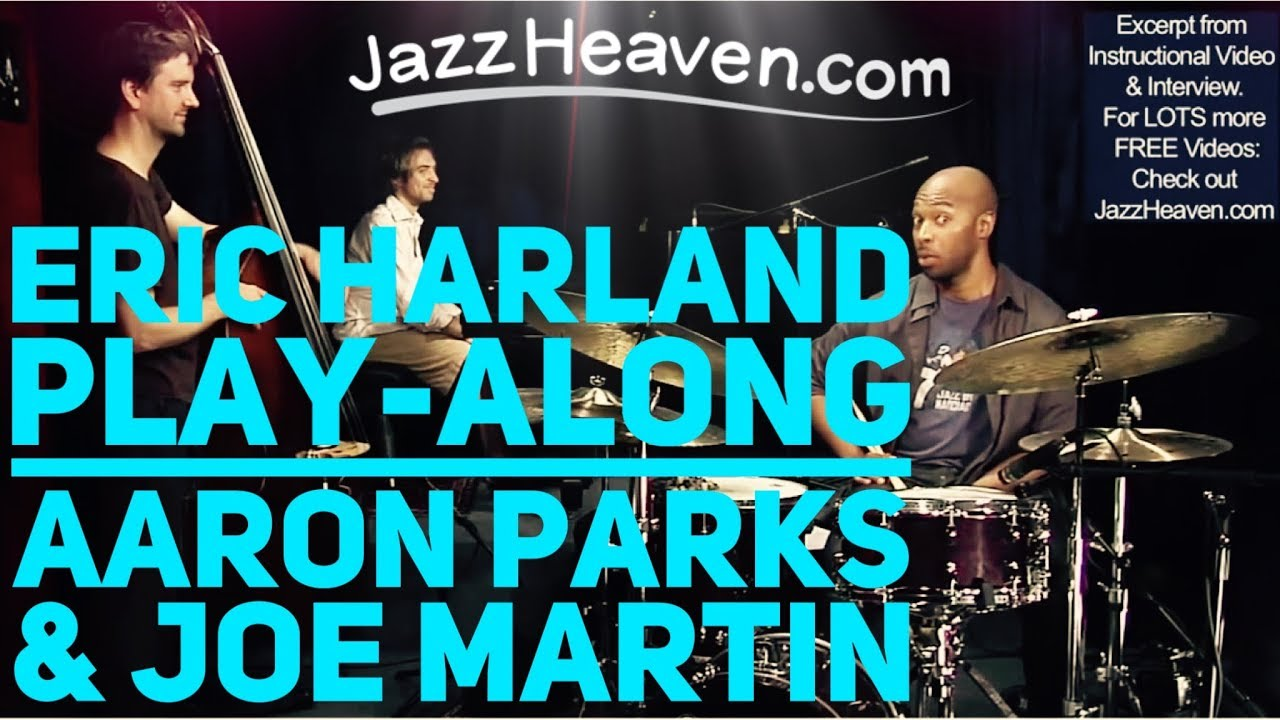 Eric Harland Trio Blues with Aaron Parks & Joe Martin JazzHeaven.com