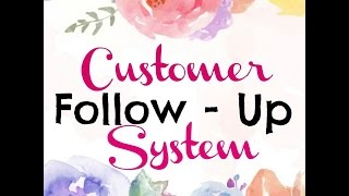Best Customer Follow-Up & Organization System! Scentsy Independent Consultant