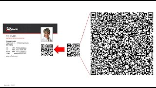 Compact / Small QR code for Business cards