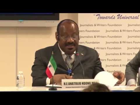 H.E. Anatolio Ndong Mba - Permanent Representative of Equatorial Guinea to the United Nations