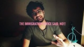 The Immigration in Italy said NO!!!! English vlogs in Italy Genova