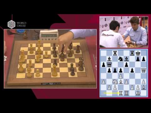 B. Jobava - M. Carlsen. Blitz