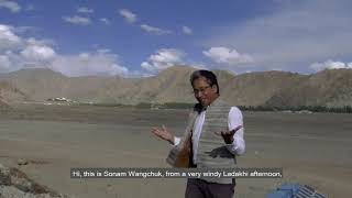 Climate Change Appeal From Ladakh | Sonam Wangchuk | Live Simply Movement | Discover Leh Ladakh