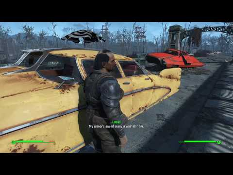 Fallout 4, Part 35 / Double Deathclaw Desicration, Ridiculous Robots and Gruelling Ghouls.
