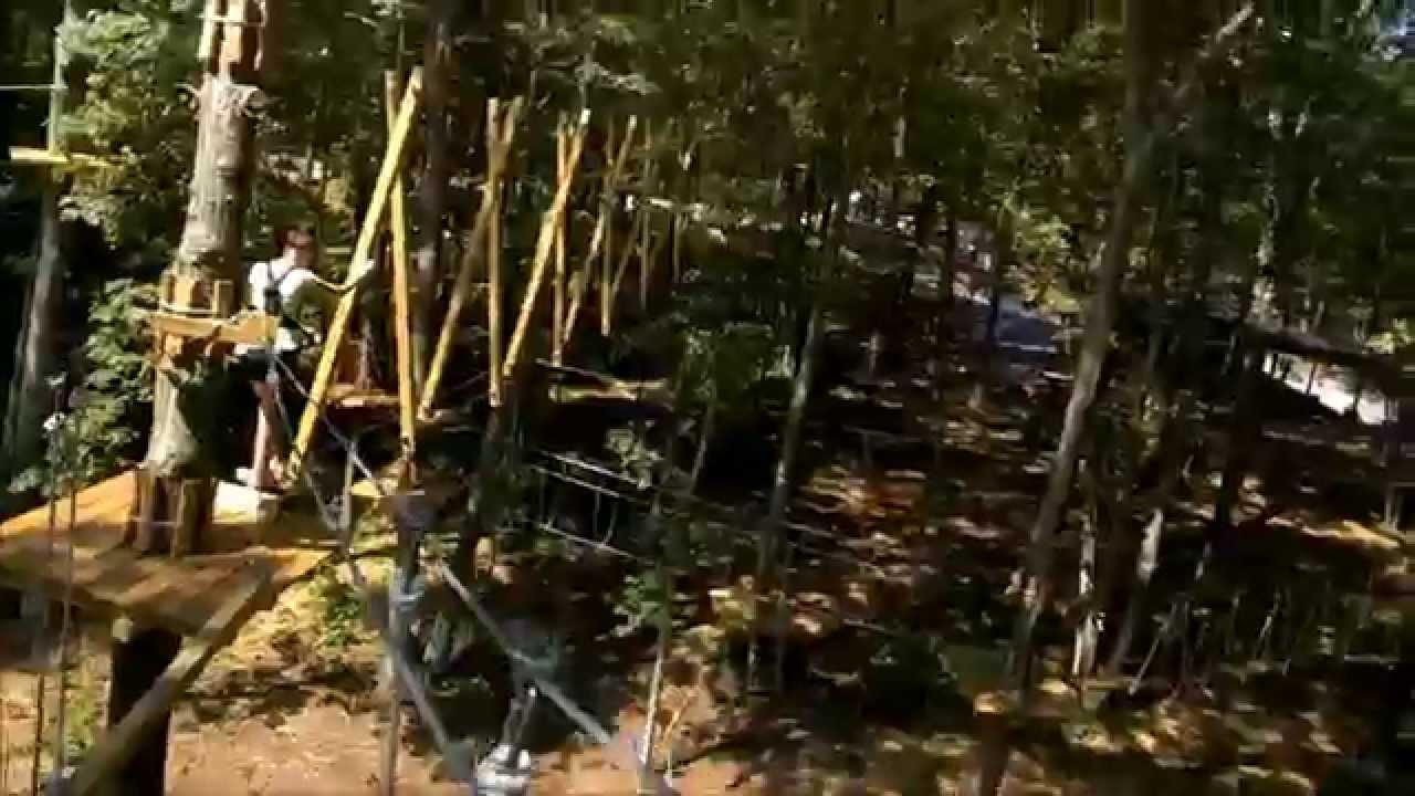 The Adventure Park Of Long Island Throughglass Youtube