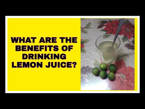 WHAT ARE THE BENEFITS OF DRINKING GREEN LEMON JUICE? I VLOG 36