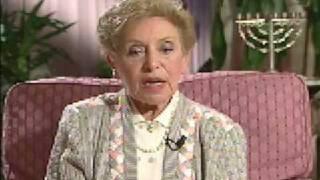 Holocaust Survivor Esther Clifford Testimony