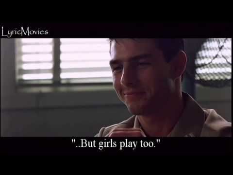 Top Gun - Playing with the Boys (Lyrics!)